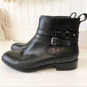 Clark's Artisan Black MOTO Short Boots Booties 8